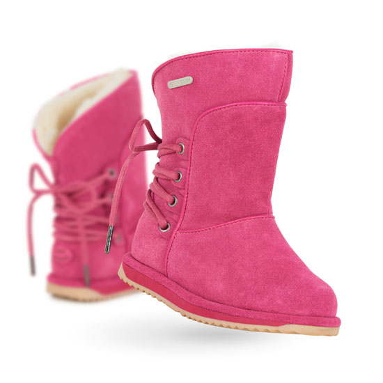 HOT PINK EMU Australia Kids Islay Outlet Online