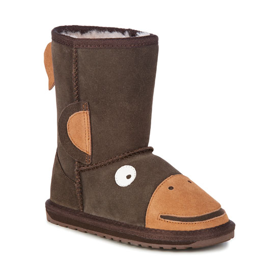 CHOCOLATE EMU Australia Kids Monkey Tail Outlet Online