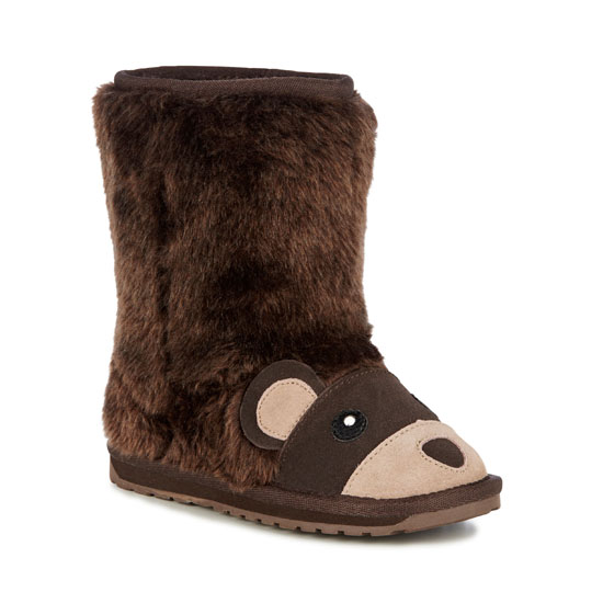 CHOCOLATE EMU Australia Kids Brown Bear Outlet Online