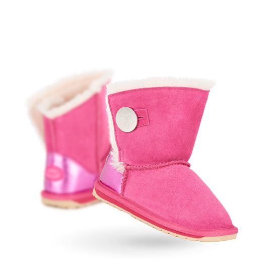 HOT PINK EMU Australia Kids Denman Outlet Online
